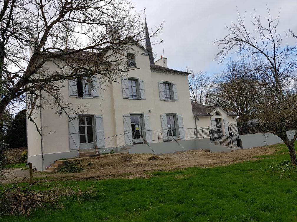 Pascal Jan Refonte Constructeur Maison Ille Et Vilaine 35 R®novation Du Presbyt¿re De St GREGOIRE 40